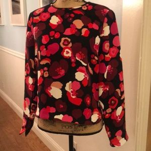 Gorgeous Kate Spade Size 8 long sleeve top Ex cond